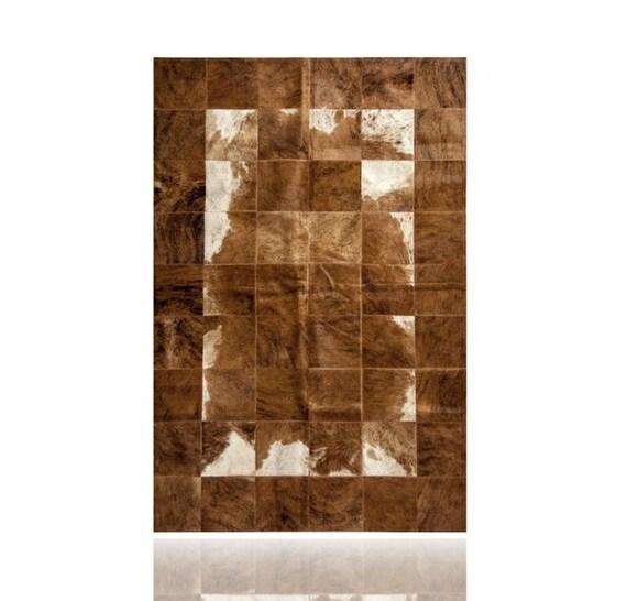 alfombra piel de vaca patchwork por puraspain en etsy. Black Bedroom Furniture Sets. Home Design Ideas