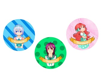 Anime -dere buttons