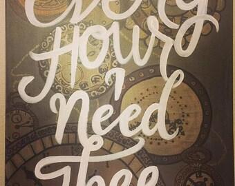I Need Thee