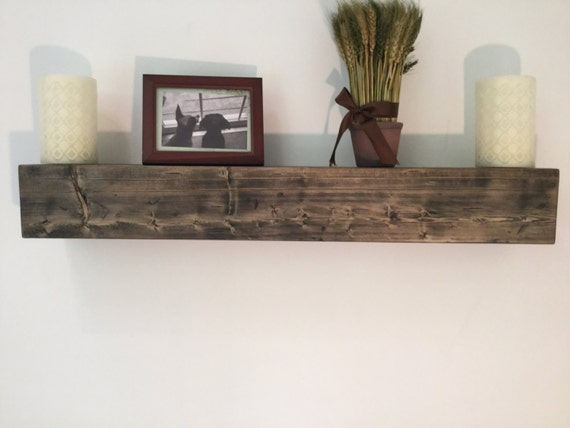 Rustic Floating Shelf Wall Shelf
