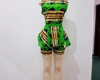 Ankara two piece