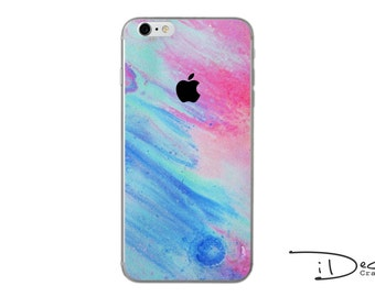Colourful Paint Decal Sticker Skin for iPhone SE, iPhone 6/6s, iPhone 6plus, iPhone 7 and iPhone 7plus