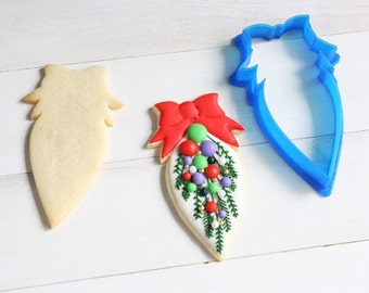 Christmas Swag Cookie Cutter