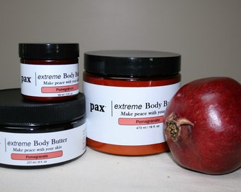 Local Pickup - Pomegranate Whipped Concentrated Body Butter