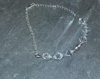 925 Sterling Silver Genuine Swarovski Bracelet