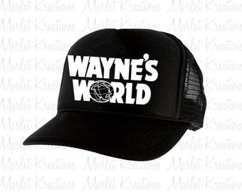 Wayne's World Trucker hat