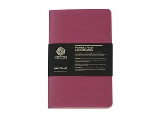 Notebook from stonepaper - Softcover Rockbook Orchid
