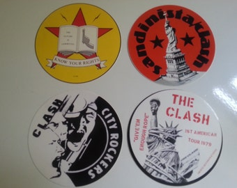 CLASH STICKER SET