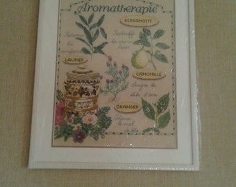 Picture embroidered thread floss