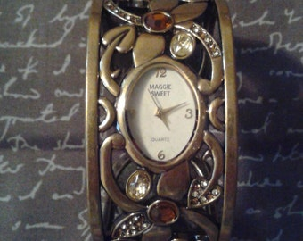 Beautiful cuff watch by Maggie Sweet!