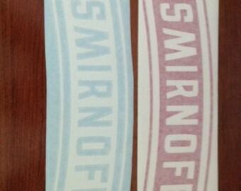 Smirnoff - Vinyl Sticker