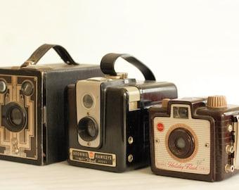 Instant Download - Three Vintage Cameras
