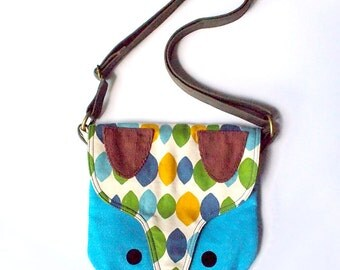 Sling Purse - The Fantastic Fox (Forest Lagoon)