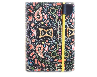 cute Kindle Paperwhite Cover - Chalkboard Swirl - paisley print eReader case for Kindle Touch - gadget tech accessory gift