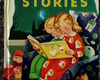 Bedtime Stories Little Golden Book - Gustaf Tenggren - 1974 - Vintage Kids Book