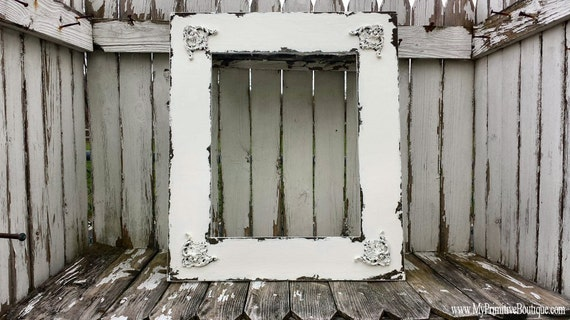 Shabby Chic PICTURE FRAME | Vintage Home Decor | 16x20 | Frame for Wedding Portrait