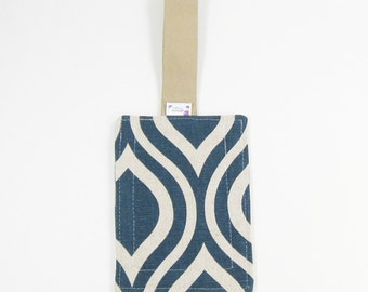 Luggage Tag / Bag Tags / Cute Luggage Tags - Navy Mod