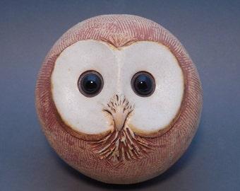 Owl Garden Head