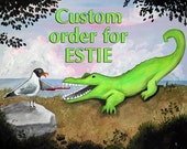 Custom Listing for Estie - 24x36 Teef - Matte Finish Art Print