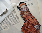 Lovely Bookmarks for Lovely Readers -  Laminated - Charm - Victorian Reader - Paper Goods - Bookmark - Handmade