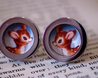 Vintage Doe Deer cufflinks (10)