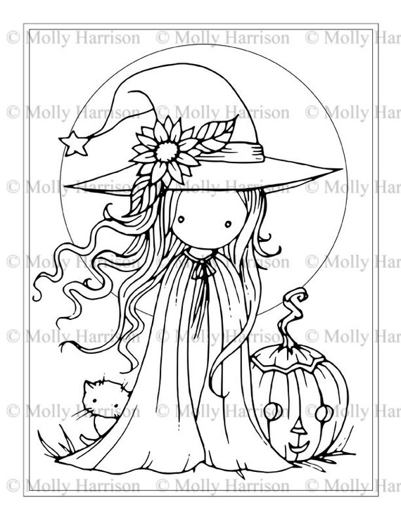 printable witch printable coloring pages - photo#22