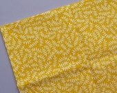 Branches - In The Forest - Steffie Brocoli for Cloud 9 Fabrics - Yellow - Organic Cotton - Destash Fabric