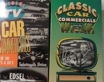 Car Videos of Classic TV Car Commercials from the 50's and 60's