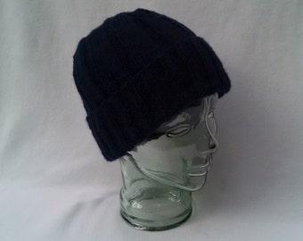 World War 2 Classic No. 212 beanie, WW 2 beanie dark navy blue, mens hat