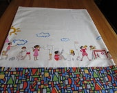 Children's Standard Pillowcases In a Variety of Sarah Jane Fabrics