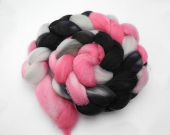 Paris At Last Hand Dye Spinning Fiber- Roving Dyed to Order