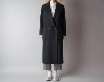 blackbird PERRY ELLIS oversized coat / long coat / m / 654o