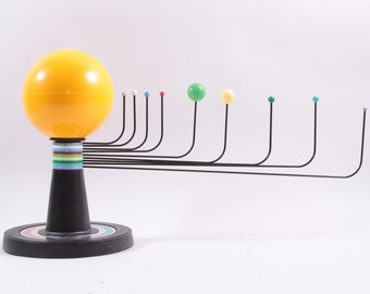 Plastic Solar System Model 9 Planets With Dates Very Cool