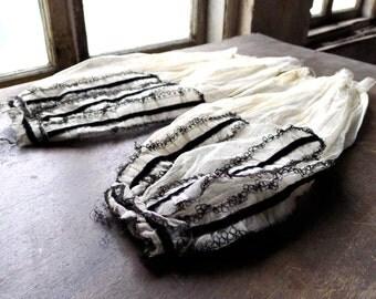 Victorian Civil War Era Engageantes Sleeves