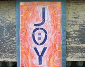 Joy Sunrise Mosaic Sign o...