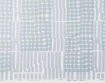 Japanese Fabric Kokka 3 min. - street - grey - 50cm