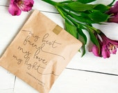 Wedding Favor - Candy Favor Bags - Candy Buffet Bags - Best Friend Design - Personalized Wedding Favor Bag - Flat Kraft Bags - 25 Bags