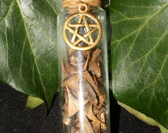 Wild English Rose Thorns in a bottle - for Protection and Magical work - Wicca, Witchcrafts, Pagan