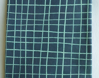 Skinny Stripe Grids Hand Dyed and Patterned Cotton Fabric