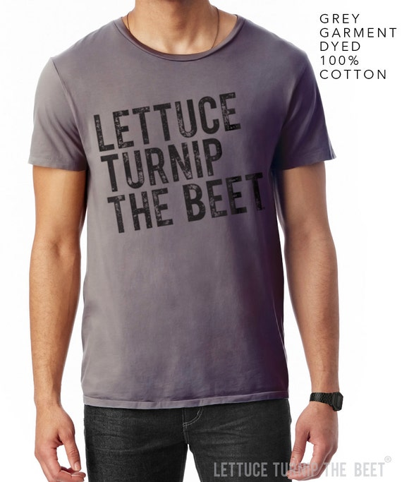 lettuce turnip the beet ® trademark brand OFFICIAL SITE - grey garment dyed cotton shirt - men's M, L, or XL