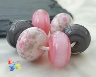 Lampwork Beads Pierrot Pearls