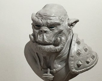 100 Heads Project - #30 Orc Dungeons and Dragons WoW