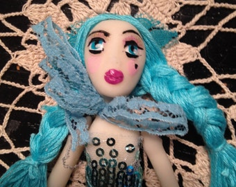 Betti Blueberry, Dame Darcy, art doll, candy dream, kawaii, sweet lolita, candy goth