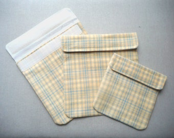 Sandwich and Snack Pockets Set of 3