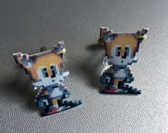 Tails - Sonic the Hedgehog cufflinks