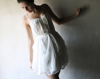 Wedding dress, Short wedding dress, Modern wedding dress, Silk wedding dress, Alternative wedding dress, reception dress, beach wedding gown