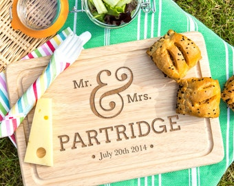 Mr and Mrs Wedding Gift Personalized Cutting Board Home wedding gift Practical wedding gift Wedding gift for new home NOW 60% DISCOUNT!!