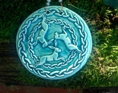 NANCY WHITE RESERVE Three Hares Circle Tile