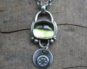 lemondrop necklace