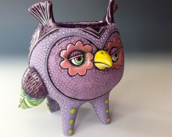 Purple Owl Cup